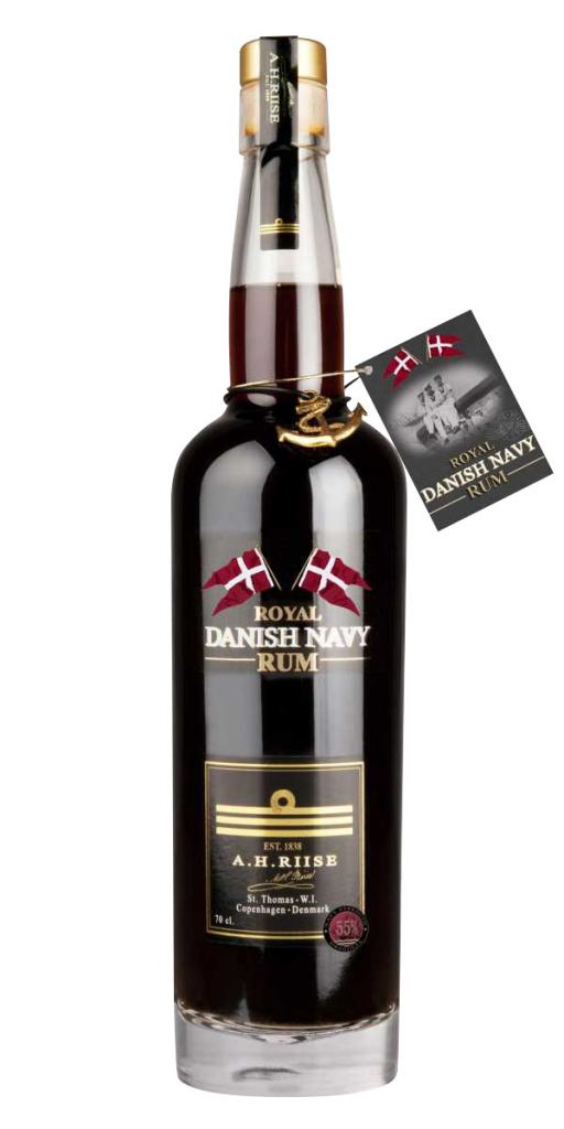 A.H. Riise Navy Strenght 55% 70 cl